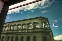 University of Notre Dame, Fremantle, Western Australia royalty free stock photo