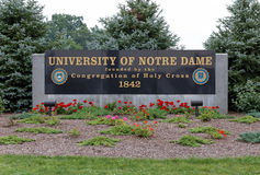 University of Notre Dame Stock Photography