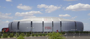 Free University Of Phoenix Cardinal Stadium Royalty Free Stock Photo - 14828495