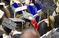 University of Oklahoma Lloyd Noble Center, Commencement Royalty Free Stock Image