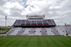 University of Oklahoma Football stadium Royalty Free Stock Photos