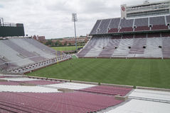 University of Oklahoma Football stadium Royalty Free Stock Image