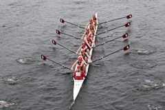 University Of Oklahoma races in the HOTC Royalty Free Stock Photos