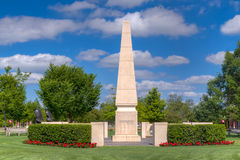 University of Oklahoma Veteran's Memorial Royalty Free Stock Image
