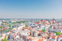 University and old town of Wroclaw Royalty Free Stock Photography