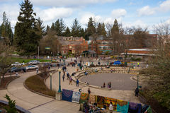 University of Oregon Campus Royalty Free Stock Photography