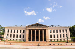 The University of Oslo Royalty Free Stock Images