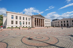 University of Oslo Royalty Free Stock Photo