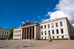 University of Oslo, Norway royalty free stock photos