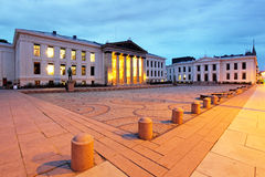 University of Oslo, square Stock Images