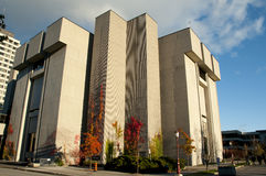 University of Ottawa Morisset Library - Ottawa - Canada Stock Photography