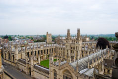 University of Oxford royalty free stock images
