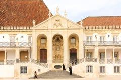 University Pabillion. Coimbra . Portugal Royalty Free Stock Photos