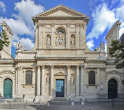 The University of Paris - Sorbonne. The University of Paris known as the Sorbonne Stock Image