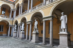 University of Pavia, Italy Royalty Free Stock Photos
