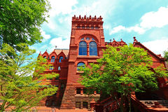 University of Pennsylvania Fisher Fine Arts Library. Building at Philadelphia, USA Royalty Free Stock Photos