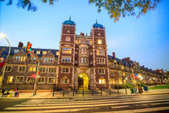 University of Pennsylvania. In Philadelphia, Pennsylvania USA Stock Photography