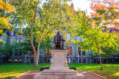 University of Pennsylvania. In Philadelphia, Pennsylvania USA Stock Photography