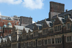University of Pennsylvania. The Quad , the old campus ofUniversity of Pennsylvania including two college houses:  Riepe College House and Ware College House. The Stock Photos