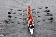 University Of Pennsylvania races in the HOTC Royalty Free Stock Images