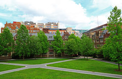 University of Pennsylvania Residence Hall Stock Images