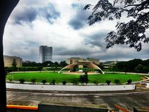 University of the Philippines Amphitheater Royalty Free Stock Image