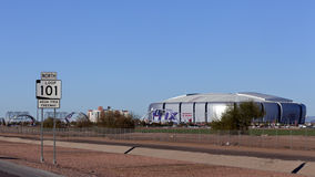 University of Phoenix Cardinal Stadium, AZ Royalty Free Stock Images