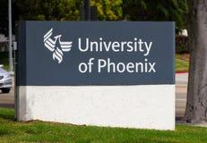 University of Phoenix Royalty Free Stock Photos