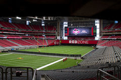 University of Phoenix Stadium dos Arizona Cardinals fotografia de stock royalty free