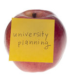 University Planning Royalty Free Stock Photos
