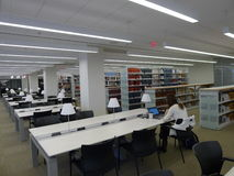 University reading room Stock Photo
