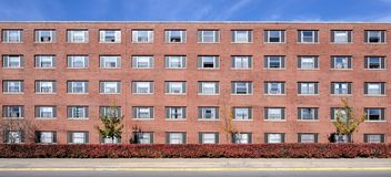 University residence halls Royalty Free Stock Photos