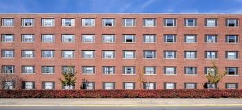 University residence halls royalty free stock photos
