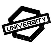 University rubber stamp Royalty Free Stock Photo