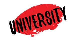 University rubber stamp Royalty Free Stock Photo