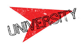 University rubber stamp Royalty Free Stock Photos
