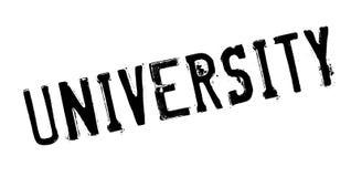 University rubber stamp Stock Photo