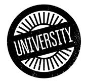 University rubber stamp Stock Photography