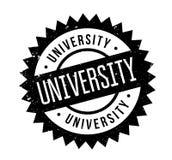 University rubber stamp Stock Photos