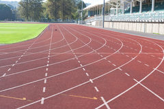 University running track Stock Image