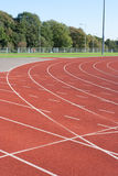 University running track Stock Images