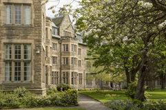 University of Saint Andrews. St Salvators Hall at St Andrews University in spring Royalty Free Stock Image