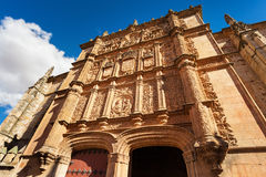 University of Salamanca main facade Stock Photography