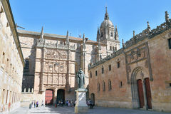 University of Salamanca, spain Royalty Free Stock Photography
