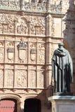 University of Salamanca, spain Stock Photography