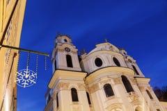 University of Salzburg Church Stock Photos