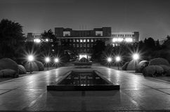 University of Science and Technology of China. The night of  University of Science and Technology of China Royalty Free Stock Photography