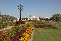 University in Sharjah Campus Royalty Free Stock Photos