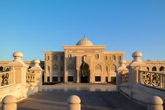 The university of Sharjah, UAE royalty free stock images