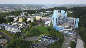 University of Siegen, Germany stock video footage